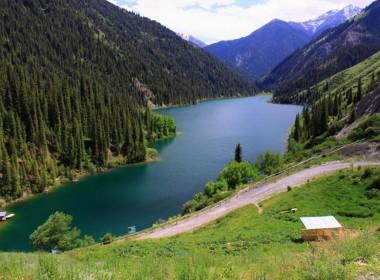 Кольсайские озера / Озеро Кайынды