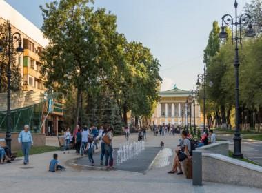 Исторический центр Алматы: ул. Панфилова