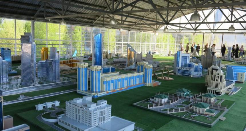 Этно-мемориальный комплекс Карта Казахстана «Атамекен»