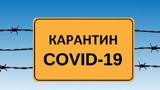 Карантин c 30 марта по 30 апреля 2020 г.