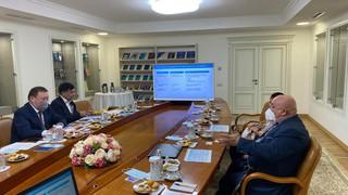 Встреча акима Северо-Казахстанской области с руководством ООО «Югжелдормаш»