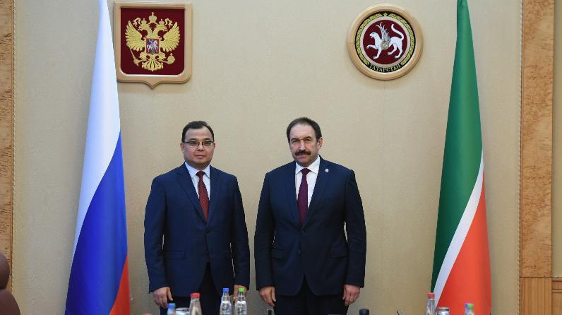 Торговый представитель Республики Казахстан в Российской Федерации посетил с рабочей поездкой Татарстан