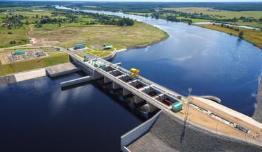 Строительство гидроэлектростанции в Алматинской области